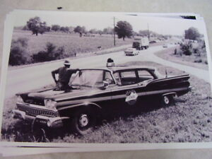 1959 Ford Kentucky State Police 11 X 17 Photo Picture