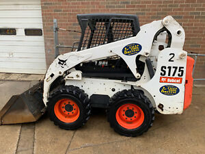 2012 Bobcat S175 Skid Steer Wheel Loader Kubota Auxiliary Hydraulics Low Hours
