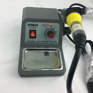 Tenma 21 7950 Temperature Controlled Ceramic Soldering Station Works Good