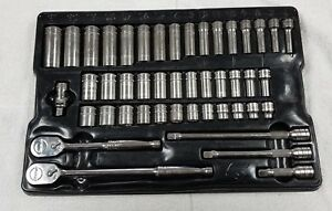 Snap On Tools 246afsm 3 8 Drive 46 Piece Master Metric Socket Set With Tray