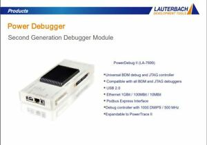 Lauterbach La 7699 Power debug ii eth Power Debug Ii Ethernet La 7742 Jtag Arm9
