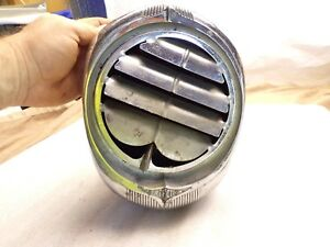 Vintage Perfection Art Deco Style Under Dash Heater Assembly Hot Rod Rat Rod