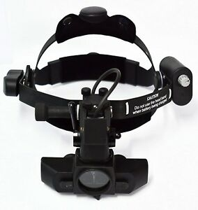 Binocular Indirect Ophthalmoscope With Rechargeable Battery Miko Microsystems