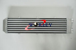 Delta Fin Design One Sided 550x140x70 Mm 2 2 Inlet Outlet Aluminum Intercooler