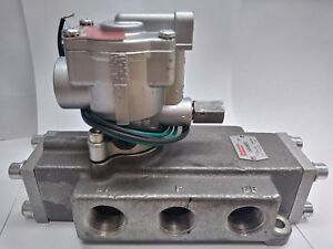 1 Schrader L6456360253 K025 303553 Single Solenoid Inline Pneumatic Valve 3way