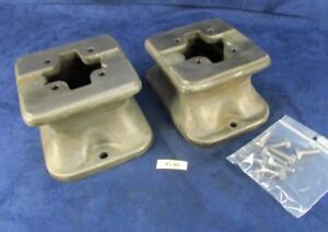 South Bend 9 10k Lathe Bed Base Foot Pair 4540