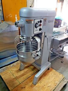 Hobart 30 Quart Pizza Dough Mixer Bowl And Hook Model D330