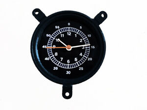 1967 1968 Xr7 Cougar Battery Powered Quartz Clock For Console