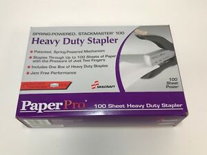 Paperpro Spring Powered Heavy Duty Stapler 40 100 Sheets