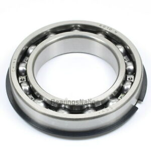 Radial Ball Bearing 6010 nr Open Light Series With Retaining Ring 50x80x16mm