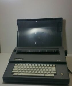 Vintage Smith Corona Sl80 Portable Electric Typewriter Working Condition