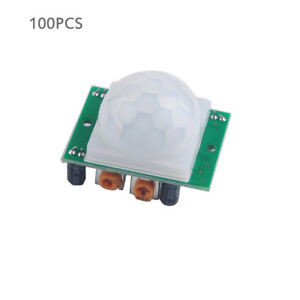 Wholesale 100pcs Hc sr501 Pir Infrared Ir Sensor Body Motion Module For Arduino