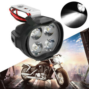 1pc 12w Motorcycle Headlight Spot Lights Head Lamp Led Front Dc 12v Driving