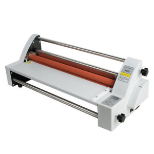 17 Digital Hot Cold 450mm Roll Laminator Single dual Sided Laminating Machine
