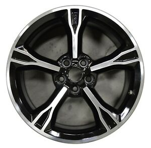 New 19 Ford Mustang Gt 2016 2017 Factory Oem Rim Wheel 10081 Black Machined