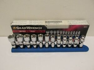 Gearwrench Metric 6 Ptl Flex Socket Set 12 Pc 80311