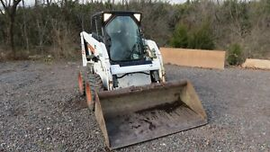 2004 Bobcat S150 Skid Steer Enclosed Cab With Heat High Flow Only 1500 Hours