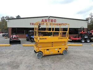 2012 Haulotte 2747e Scissor Lift Electric Good Condition Only 54 Hours