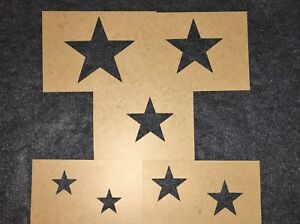 Military Vehicle Star Stencil Set M35a2 Cucv M151a2 Willys Jeep Truck Us Army