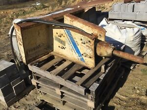 Kent Kf4 Hydraulic Breaker Hammer Skidloader Attachment Aux Bobcat Case Deere