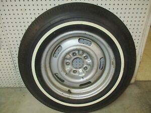 67 Corvette Factory Gm Spare Wheel And Tire Nice Ncrs 7 75 X 15
