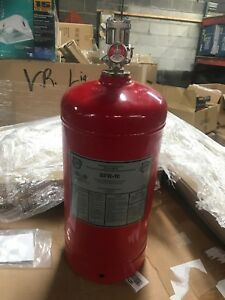 Buckeye Model Bfr 10 Dry Chemical Fire Suppression Cylinder Commercial Kitchen