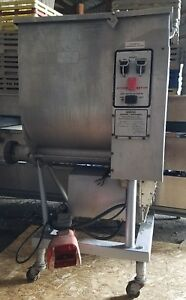 Hobart 4346 Meat Grinder mixer 7 5 Hp Very Nice