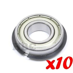 10 X Radial Ball Bearing 6002 zznr Light Series 2 Metal Shields