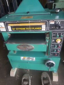 G9967 20 5 Hp Extreme Duty Planer Single Phase 220 Volts Will Ship