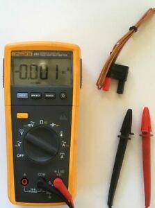 Fluke 233 True Rms Remote Display Digital Multimeter Very Versatile Meter