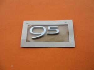 2010 2011 Saab 9 5 95 Rear Trunk Lid Emblem Logo Badge Sign Symbol Oem New 10 11