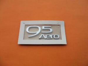 2010 2011 Saab 9 5 95 Aero Rear Trunk Lid Emblem Logo Badge Sign Oem New 10 11