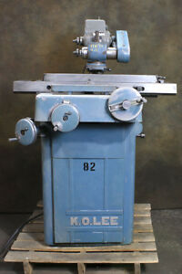 K o Lee Ba960 Rushmore Series Tool Cutter Grinder Many Accessories Available
