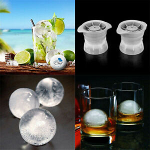 2.5INCH Ice Ball Cube Maker Sphere Mold Round Ice Ball Jelly Mould Whiskey Bar