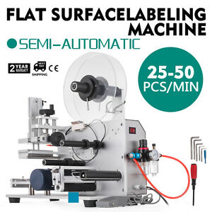 Semi automatic Labeller Lt 60 Labeling Machine 110v Easy Operate Useful Cartons