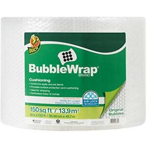 Brand Bubble Wrap Roll 3 16 Original Cushioning 12 X 150 Perforated Every