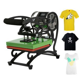 2018 New Type Portable T shirt Heat Press Dual Digital Transfer Machine
