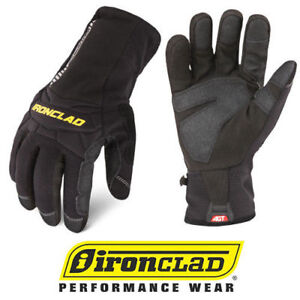 Ironclad Ccw Cold Condition Waterproof Insulated Winter Work Gloves select Size
