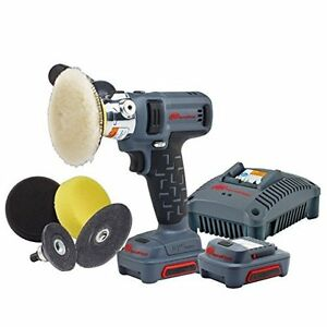 PolisherSander Kit Battery Powered Electric Compact Detail Use Ingersoll Rand