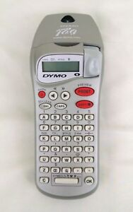 Dymo Letratag Personal Label Maker Silver