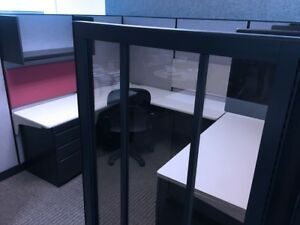 Herman Miller Cubicles Office Cubicles Systems Workstation Furniture glass