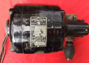 Bodine Electric Nsh 54rl Speed Reducer Motor 1 8hp 1725 Rpm 84in lbs 43rpm 115v