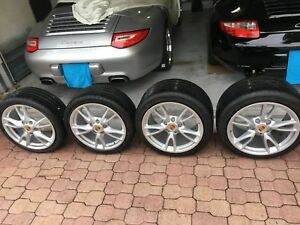 Porsche 18 Wheels And Tires