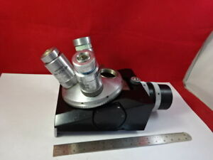 Vickers Uk Microplan Nosepiece Objectives Optics Microscope Part As Is 93 28
