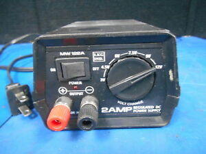 2 Amp Regulated Dc Power Supply Mw122a used Free Ship