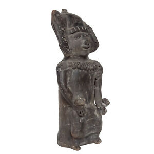 Pre Columbian Figure Rare Ancient Mayan Statue Inca Aztec Pottery Mexico Mexican