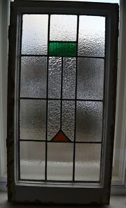 1 Art Deco Leaded Light Stained Glass Window Panel R872a Delivery