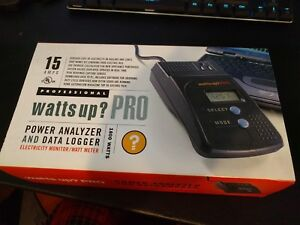 New Watts Up Pro Power Analyzer Data Logger Units With Cable Software More