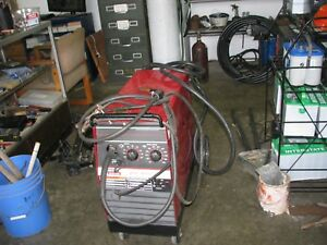 Mig Welder Lincoln Wirematic 250 With Full Owner Tank