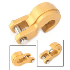 Gold Extractor Tow Recovery Hook For Off road Hitch Receiver Jeep truck